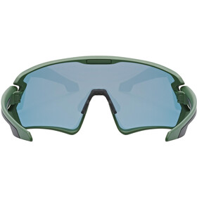 UVEX Sportstyle 231 Glasses, groen/rood